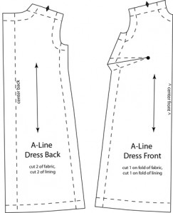 Barbie A-line Dress