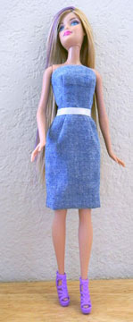 Barbie Blue Dress