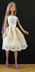 Barbie Sundress with Lace Skirt