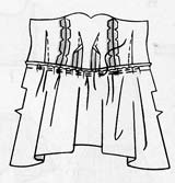 figure 5 attach bodice to skirt