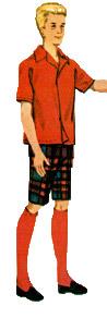 ken's shirt and shorts