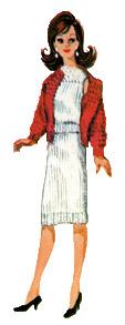 barbie's knit 3 piece suit